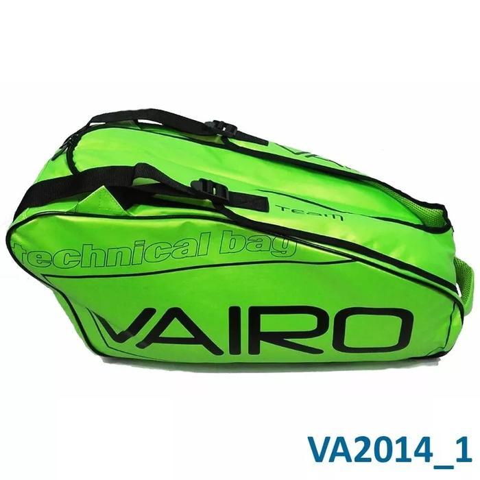 0e450cfc Bolso Paletero Padel Vairo Team Verde/negro Bolso Paletero Padel Vairo Team  Verde/negro